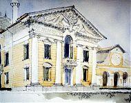 de villa barbaro van palladio, bewonderd architect