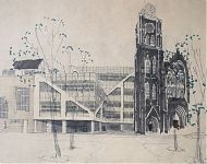 verbouwing kerk tot kantoorcomplex rotterdam