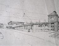 plan interieurwinkel rond bestaande silo groningen