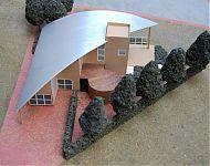 plan voor uitbreiding van de woning met werkruimte