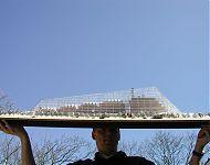 model huurkantoren onder glas 'crystalic' leeuwarden