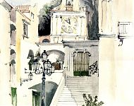 atrani   pen/aquarel '02
