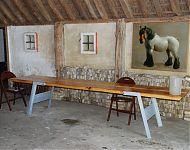 tafel uit een lang bewaarde plaat amerikaans