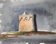 kustwachttoren in Apulië