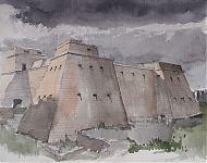 kasteel in Puglia