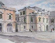 lecce  piazza cathedrale