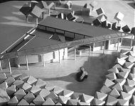 ontwerpmodel gemeentehuis zuidhorn
