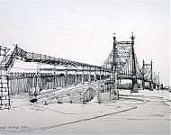 queensborough bridge new york pentek.