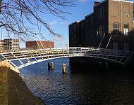 voetbrug Kattenburg-Wittenburg Amsterdam