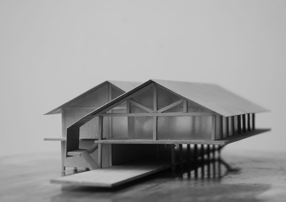 ontwerp pierrestaurant Almere 2000