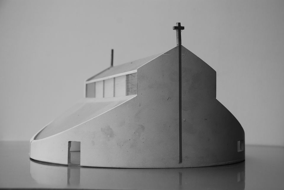 schetsplan Molukse kerk Delfzijl 1983